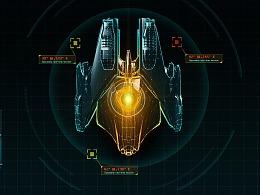 科技感飞船