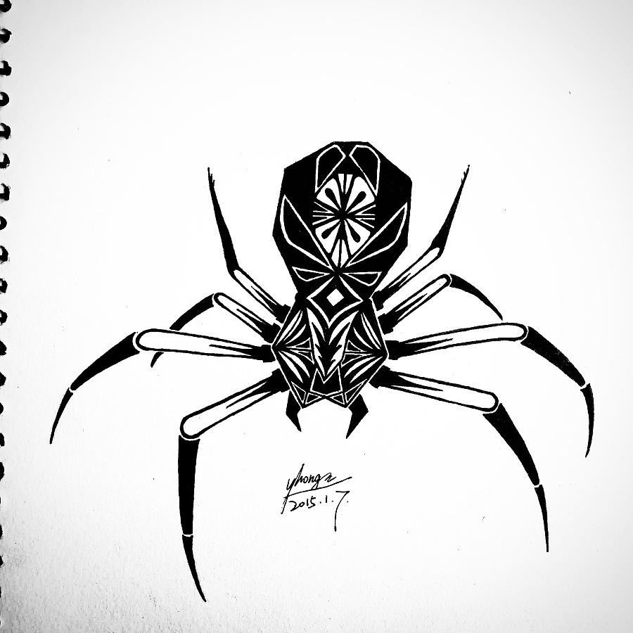 原创作品:纹身手稿