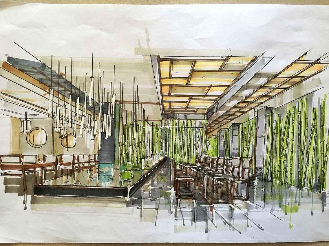 手绘效果图 |三维|建筑/空间|做室内的小卤蛋 - 原创