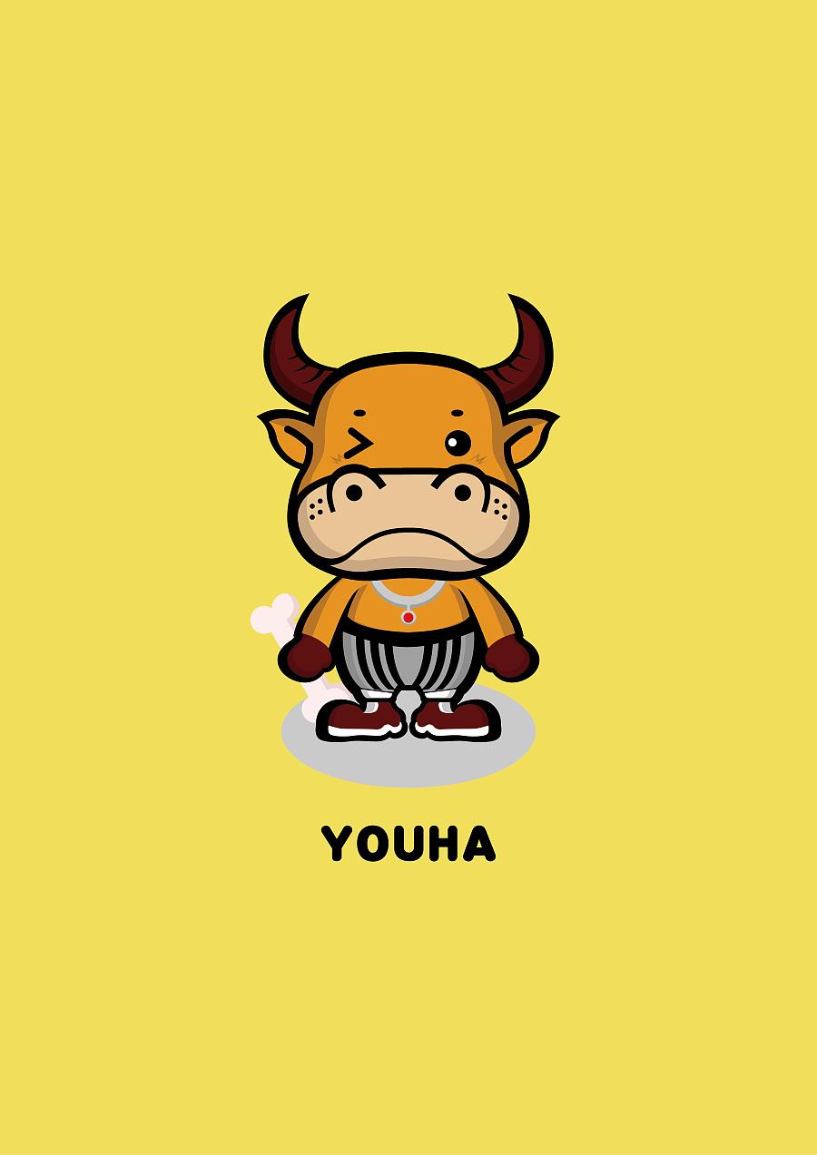 牛小宝—卡通吉祥物