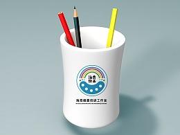 LOGO 绘画教育培训 logo