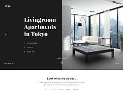 网页设计 国外风格 简约网站