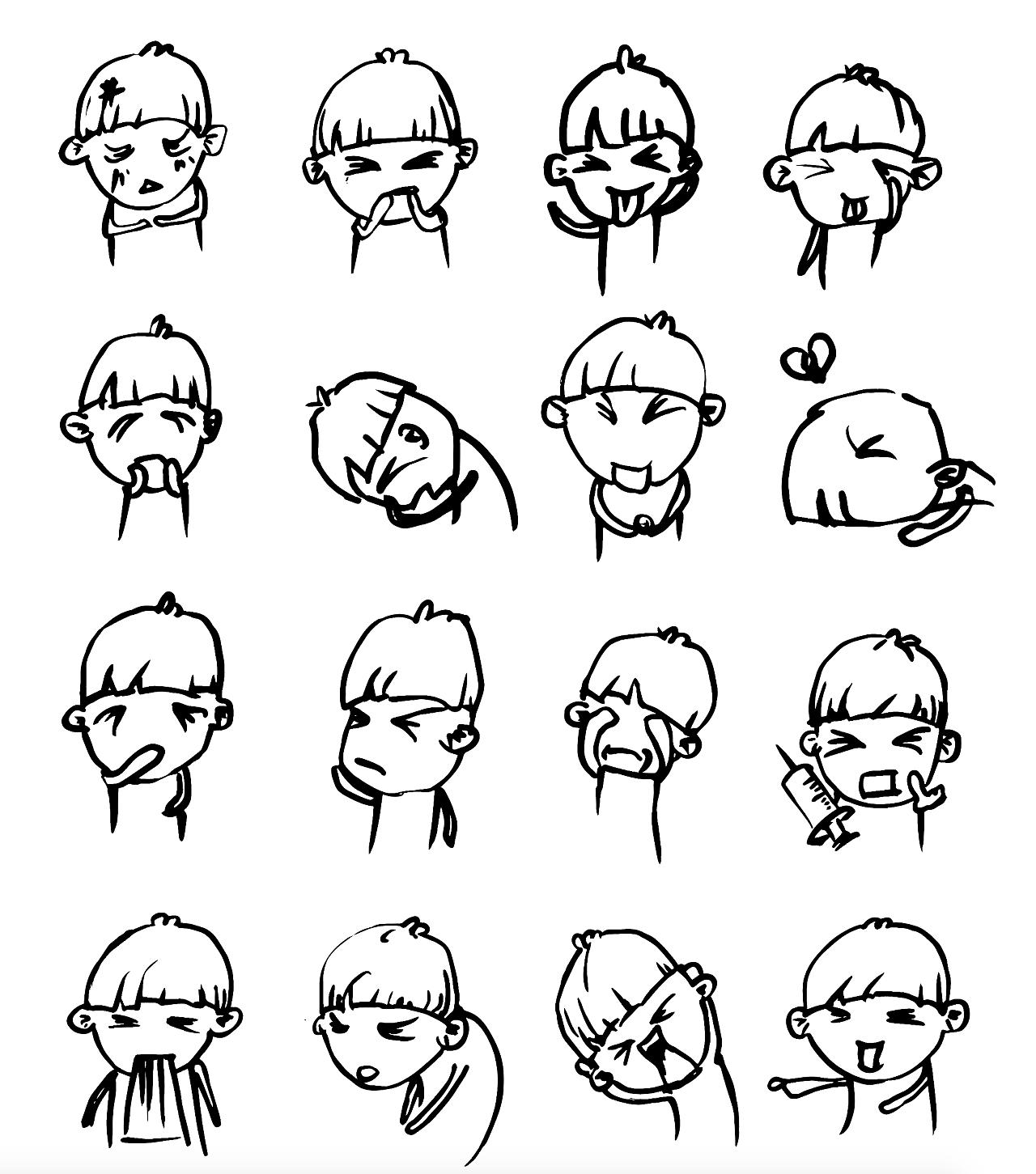 """""""蘑菇""""表情包"""