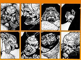 《八恶人》自制海报