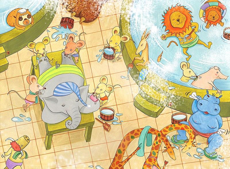 手绘插图|插画|儿童插画|carolzxy - 原创作品 - 站酷