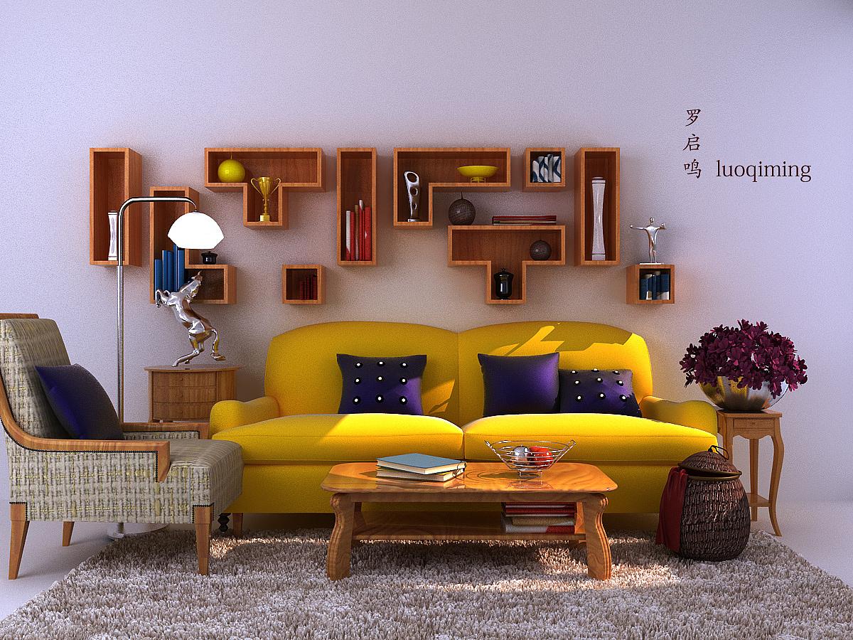 室内效果图|三维|建筑/空间|ldeman - 原创作品