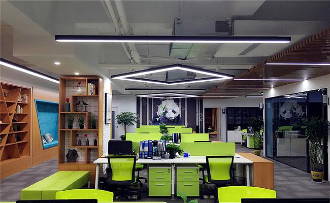 成都餐饮管理办公室设计装修效果图-四川1769装饰|||