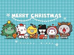 油爆叽丁家族圣诞节