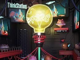 """ThinkStation 全站出击,""""鼠""""你最强!!"""