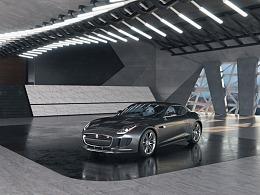 汽车渲染与场景设计