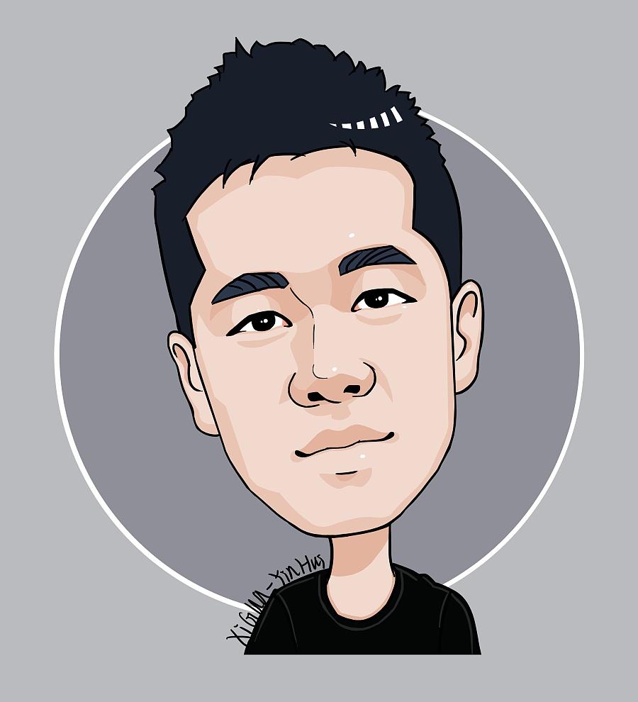 q版小头像|肖像漫画|动漫|千代初瑶 - 原创设计图片