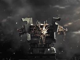 """鹈鹕动画作品-腾讯游戏""""乱世王者""""定格动画"""