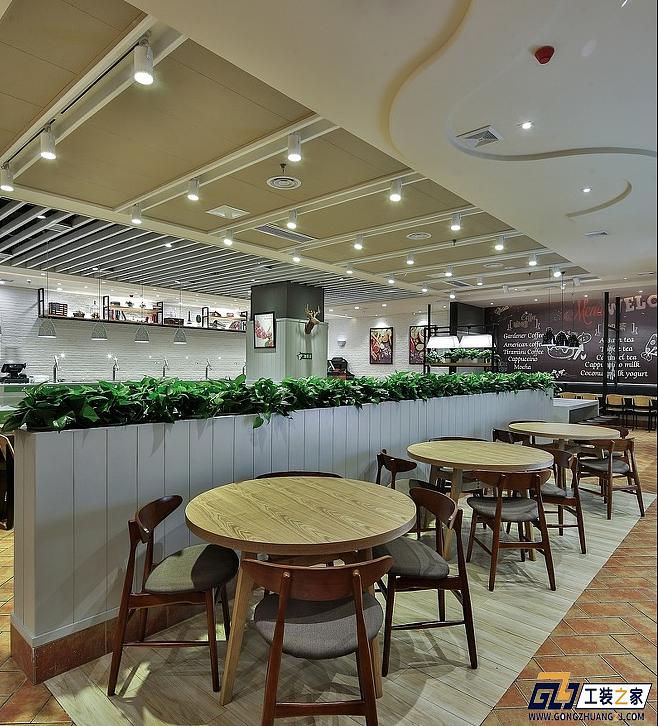 西安工装设计图_西安快餐店装修设计|空间|室内设计|工装之家装修网 - 原创作品 ...
