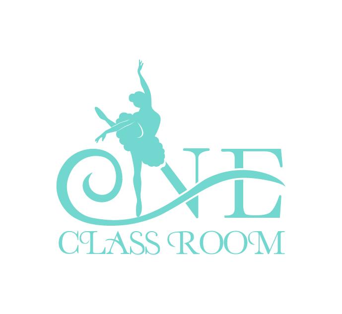 壹教室舞蹈培训教育机构logo设计图片