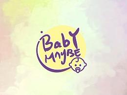 母婴标志设计>.<babymaybe
