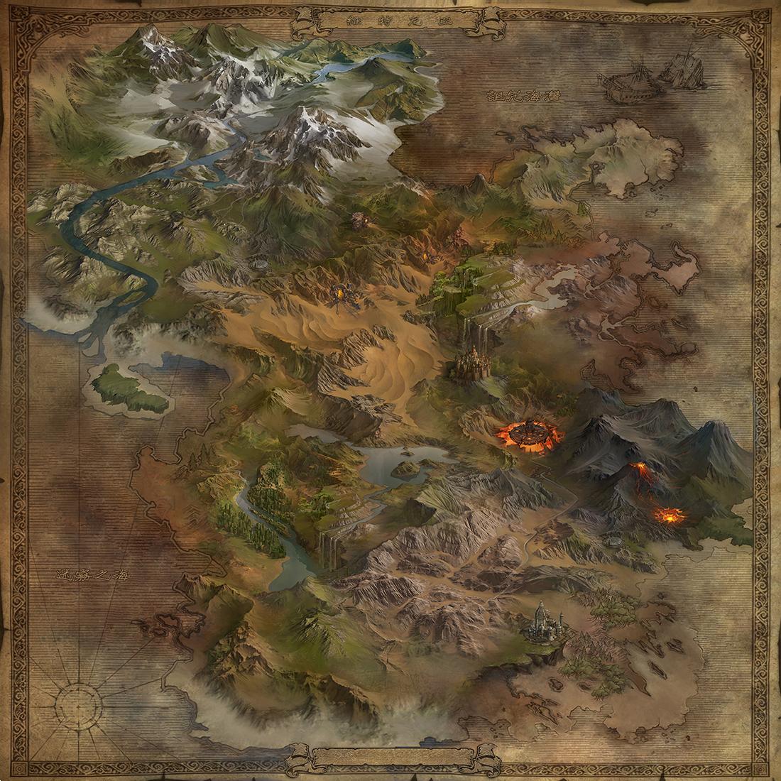 地图|ui|游戏ui|chao1912 - 原创作品 - 站酷 (zcool)