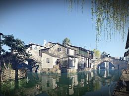 Lumion6.0古镇、建筑、景观表现。