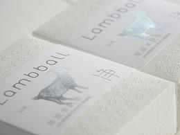 Lambball羊奶皂包装设计