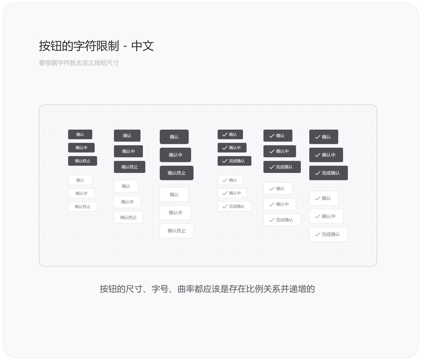 UI细节的设计语言-按钮