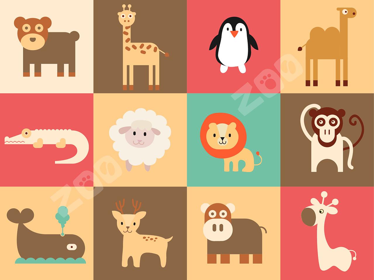 很喜欢小动物,临摹一些可爱的小动物们.