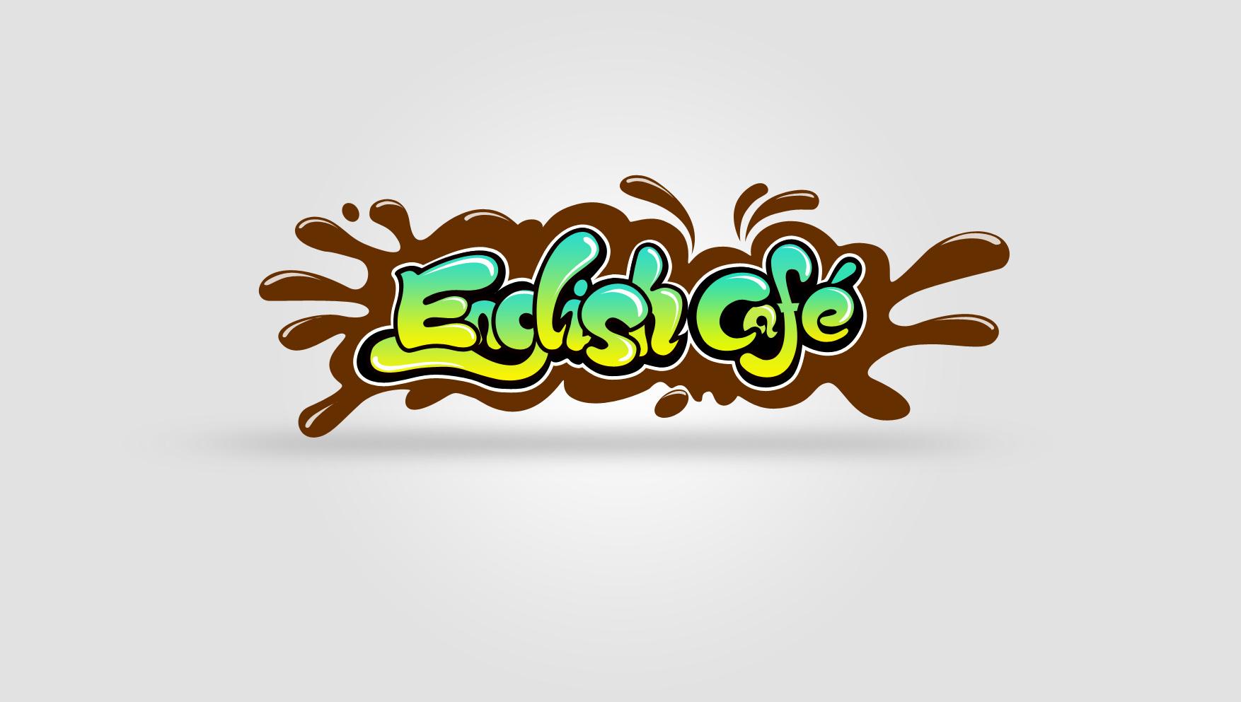 为一字体英语儿童班设计的外教logo涂鸦图案设计夏天图片