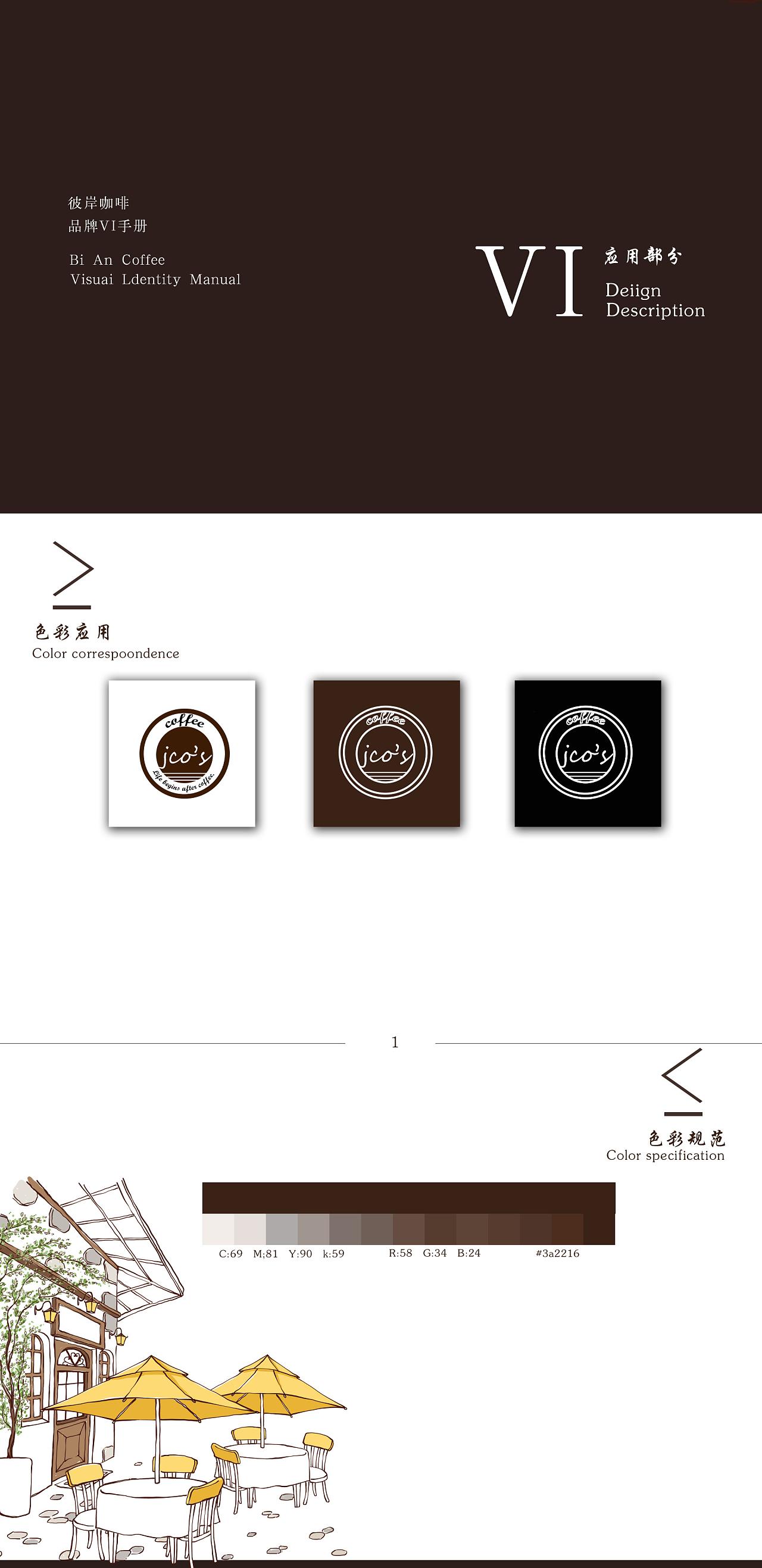 咖啡厅vi手册图片