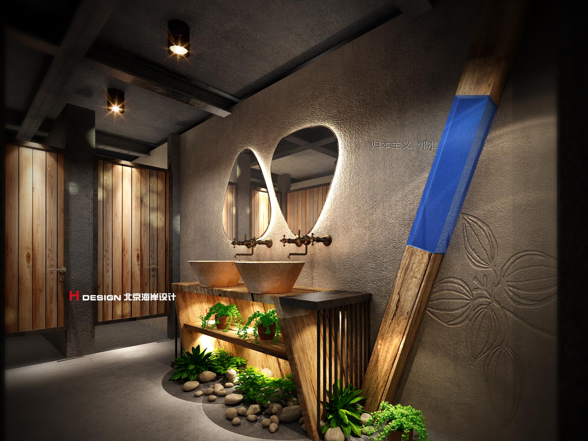 归本主义设计作品—云南丽江牧天星咖啡设计案例图片