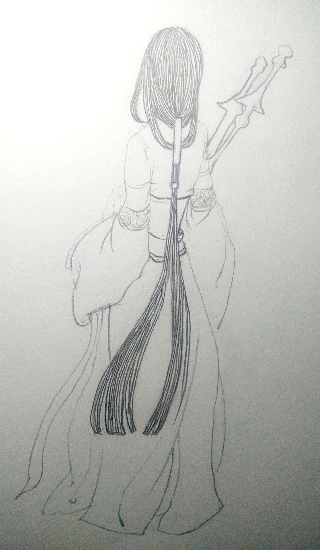 铅笔画|纯艺术|速写|zhongbu - 原创作品 - 站酷图片