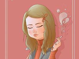 抽烟—小孩
