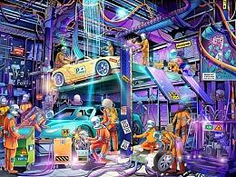 习图——异星工场