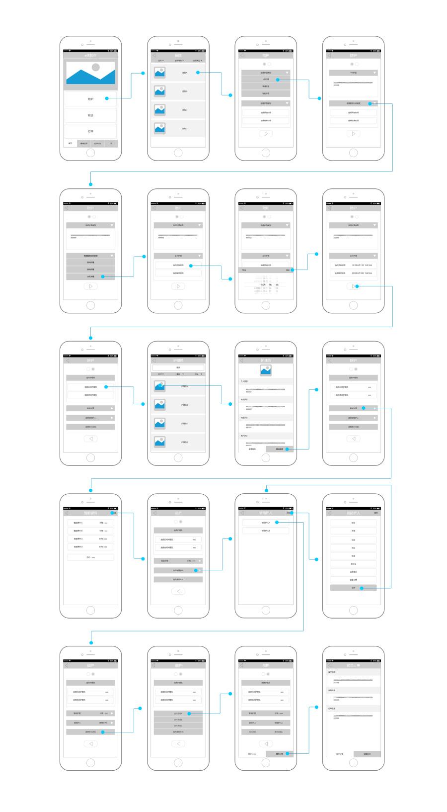 Axure原型制作-Axure项目原型|概念\/原型|UI|诚实