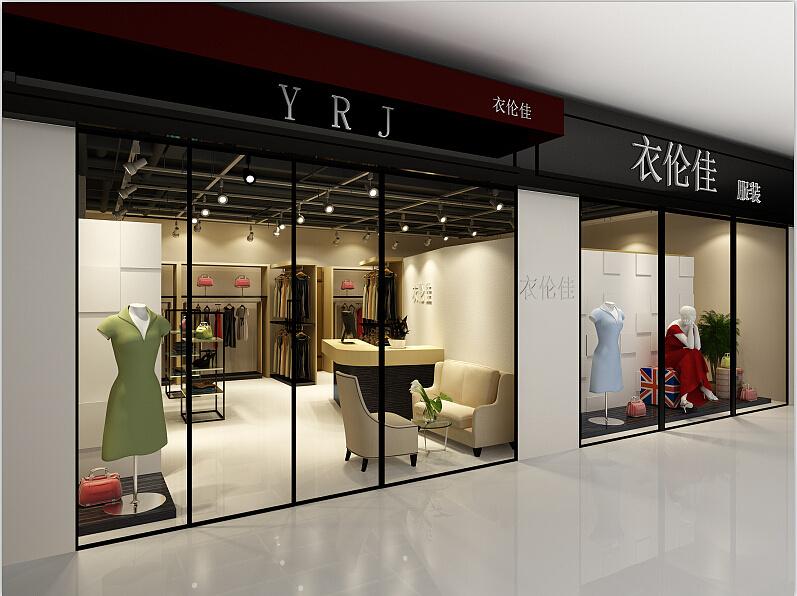 成都服装店面如何设计-店面创意装修图片