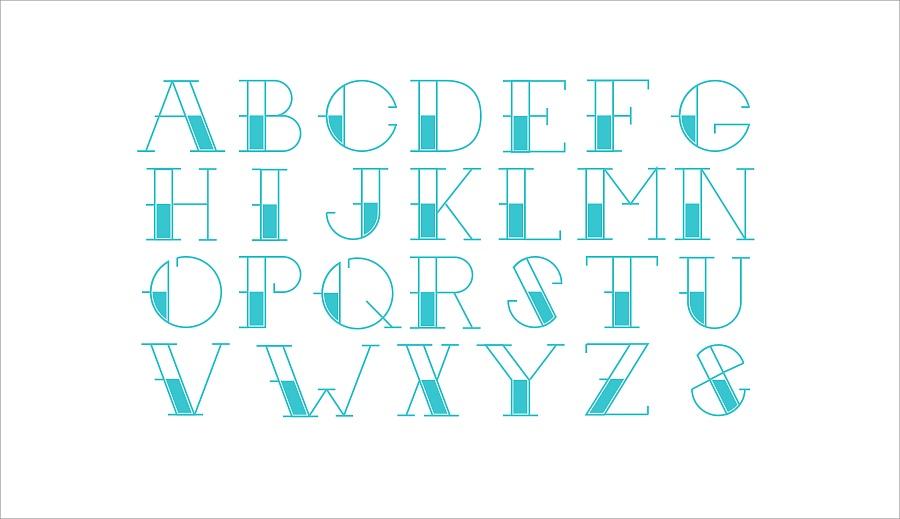 学习用SKETCH的制作专业来统一字母表|样式室内设计字体考研考什么图片