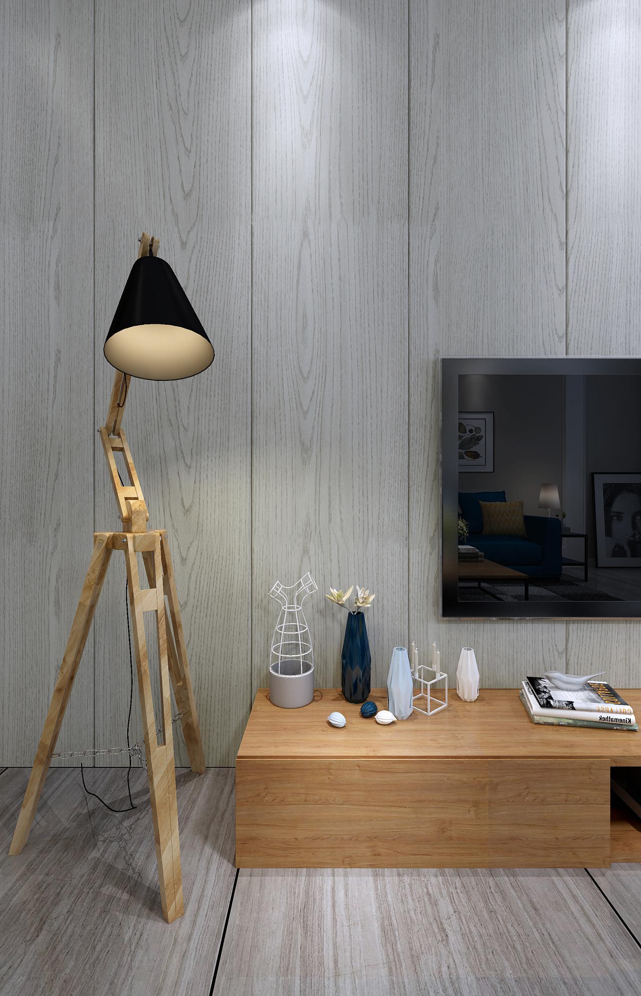 北欧风格小户型|空间|室内设计|lcsk - 原创作品