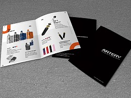单页设计,产品手册