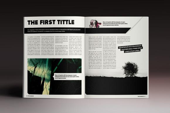 企业公司画册杂志模板indesign模板产品展示画册模板服装秀杂志图片
