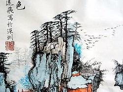 国画-山水 花鸟