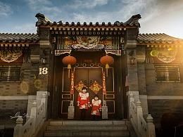 冬天里的老北京胡同
