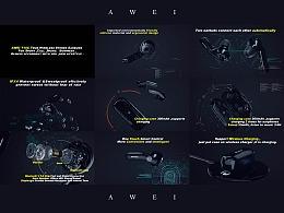 AWEI耳机
