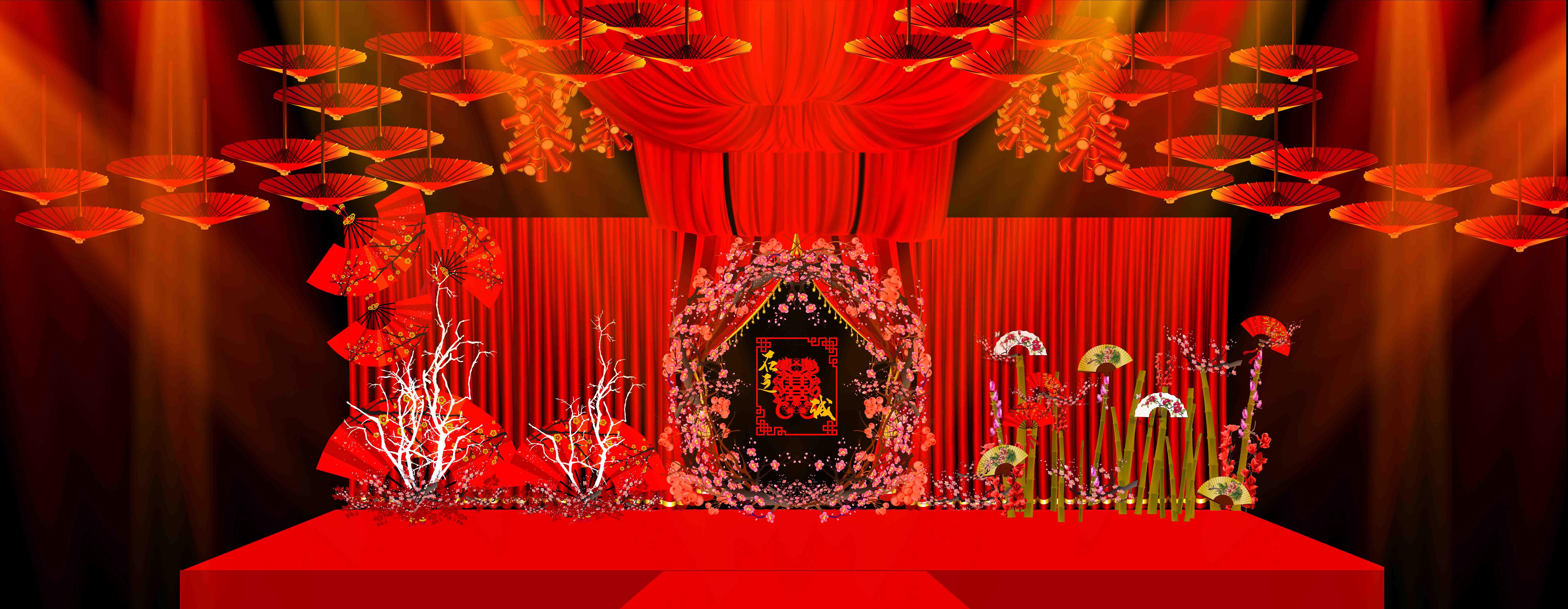 中式婚礼设计