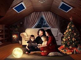 【魔法视觉】过节的一家人