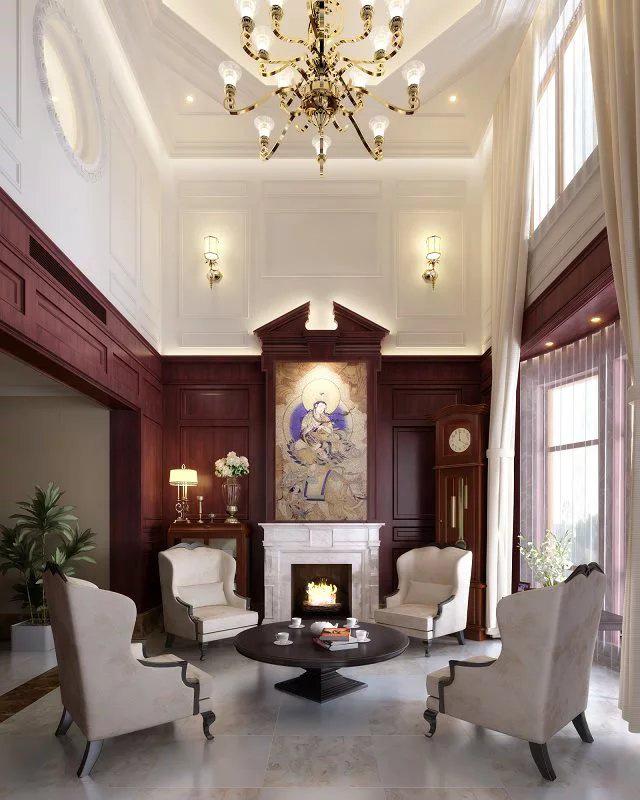中欧混搭|空间|室内设计|栾然 - 原创作品 - 站酷图片