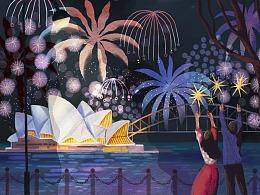 #致世界的明信片#悉尼