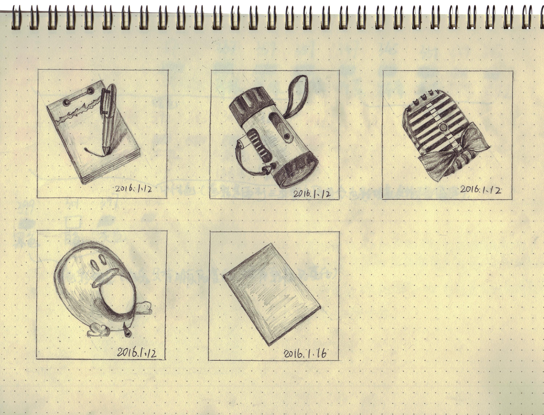 手绘手机app图标