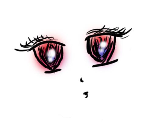 手绘板练习/眼睛