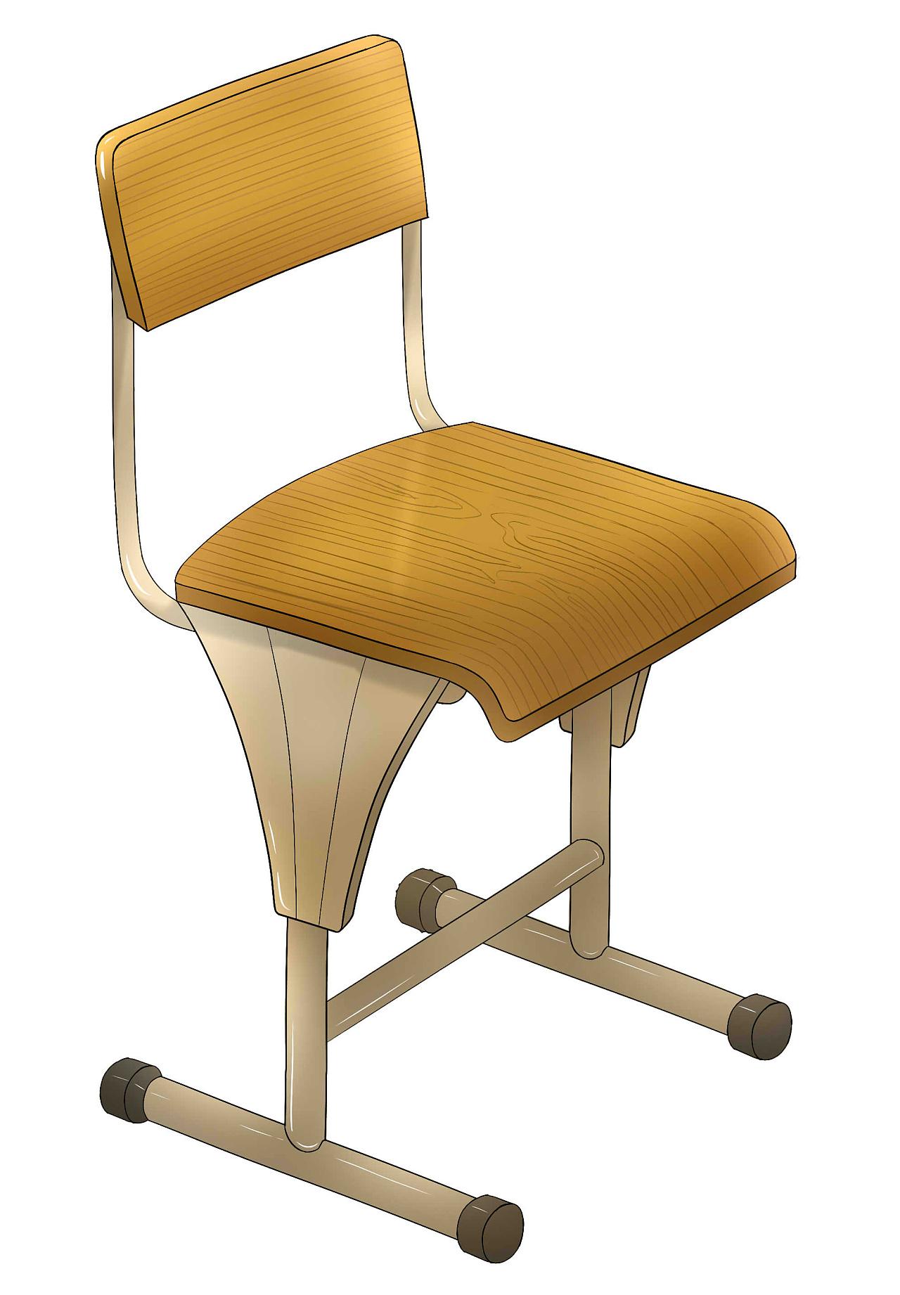 创意椅子铅笔手绘