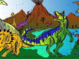 侏罗纪恐龙