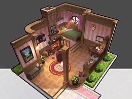 粉粉的室内建筑设计