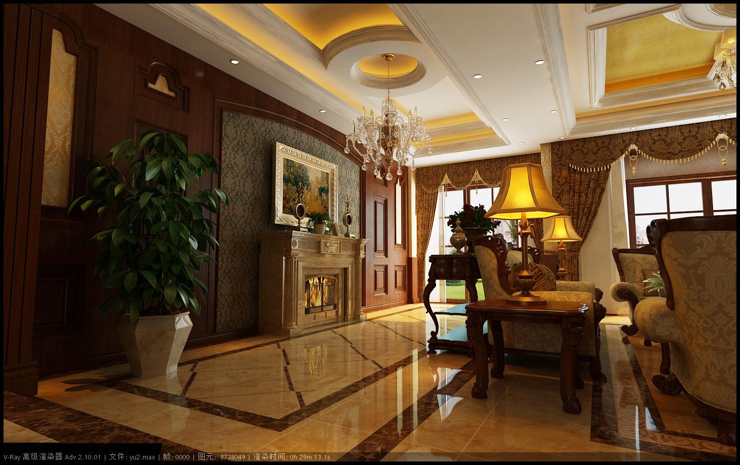 室内设计|三维|建筑/空间|说人话的咸鱼 - 原创作品