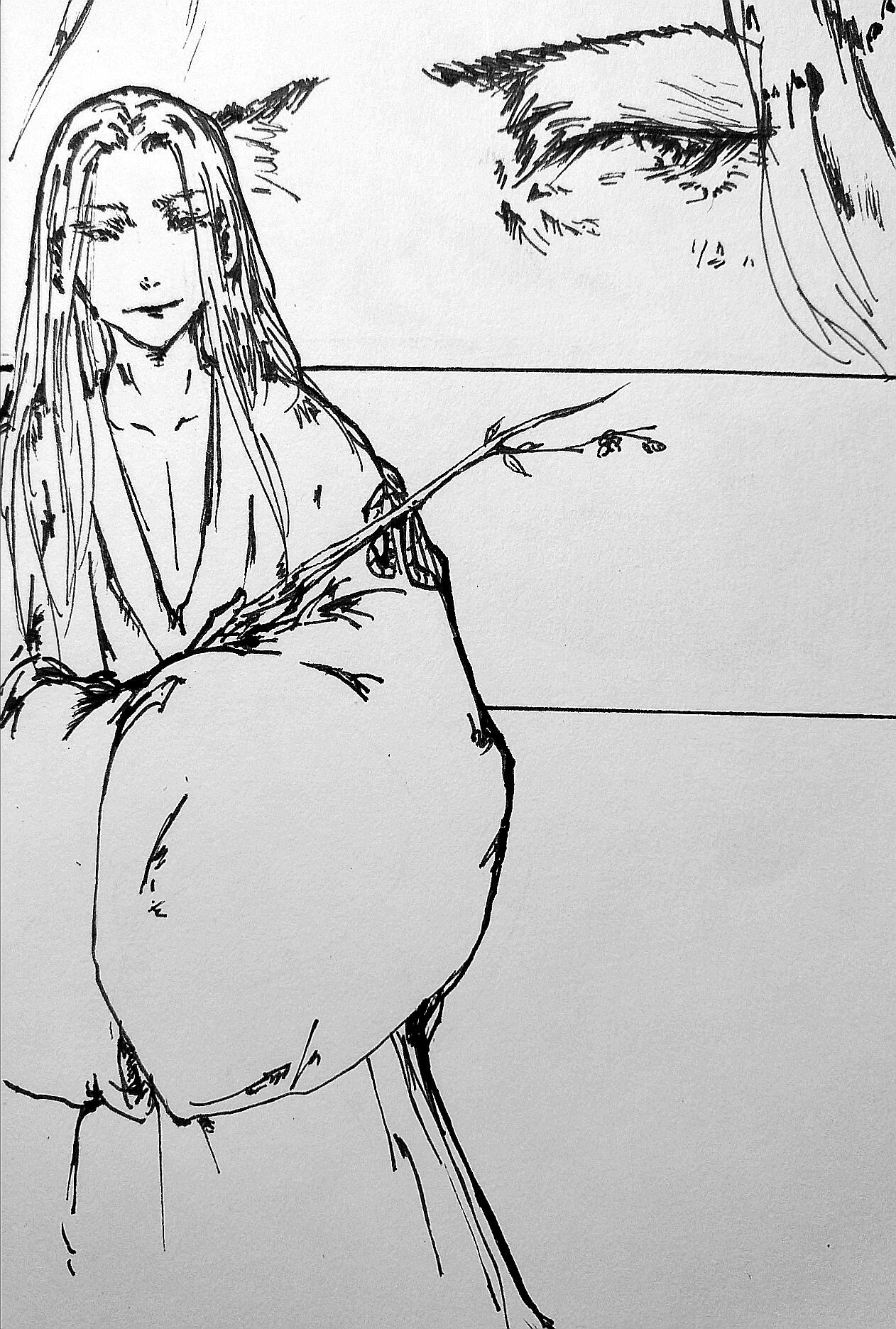 《王者荣耀》瑜乔- 长干行二首 动漫 短篇/四格漫画